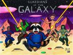 Guardians of the Galaxy Charging into Action! by WalterRingtail