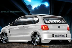 VW Polo White Angel by skywalkerbatuhan