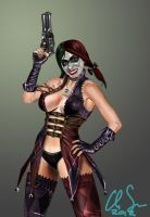 Harley Quinn by osx-mkx
