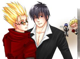 Trigun characters by howabout