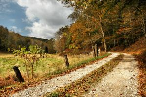 Autumn in Rural West Virginia by TimLaSure
