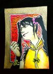 ACEO// Ling Xiaoyu for Watchudrawing by tguillot