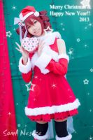 Kasane Teto - Wishing you all the happiness ^^ by Negize