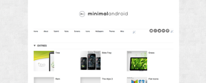 Minimal Android - Website by xNiikk