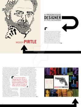 Woody Pirtle- Magazine Spreads by Lord-of-Lost-Souls