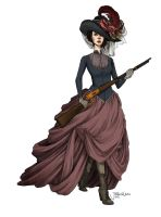 Western Lady Eboshi by JACKIEthePIRATE