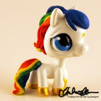 Starlite from Rainbow Brite custom LPS by thatg33kgirl