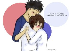 Ouran High - Mori x Haruhi by difinity