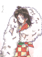 Rin to Sesshomaru no Mokomoko by CHIKAON