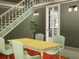 Green,Creme and add some orange with burgundy by TullaRask