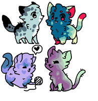 more cat adopts 4/4 OPEN by grapefoot