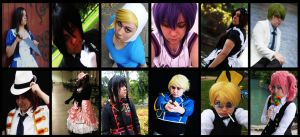 The Best of 2013 Cosplay~! by Dorchette