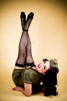 Lauren Blain Pin Up by lexopposite