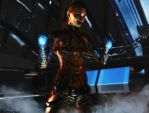 Mass effect wallpaper 7 - Jack 3 by ethaclane