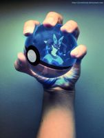 The Pokeball of Lucario by Jonathanjo