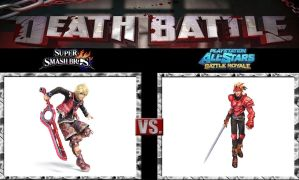 Death Battle Shulk vs Dart by Werewolf-Hero