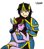 LoL - King and Queen (Request) by chazzpineda