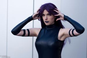 Psychic Thoughts : Psylocke by Lossien