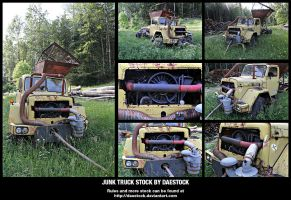 Junk Truck Stock by DaeStock