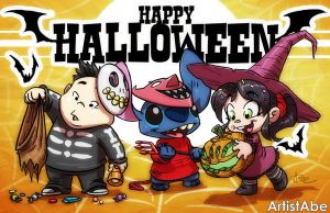 Happy Halloween 2015 by ArtistAbe