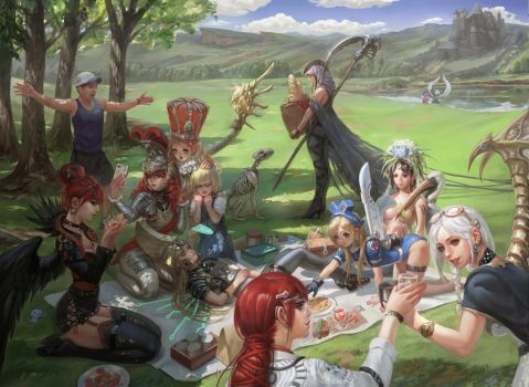 The picnic by inshoo1