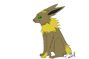 Llola Jolteon? by sickvilkas