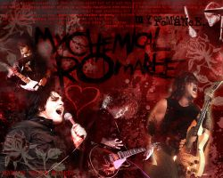 My Chemical Romance Wallpaper by Cecilia-Dark-Emerald