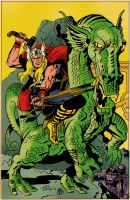 Thor - Welser over Kirby color by markwelser