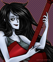 Rock n' Roll Marceline by Rokeii