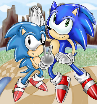 Sonic Generations Contest by Mephilez