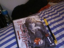 Death Note DVD by LordGatty