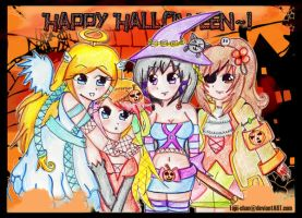 + Happy Halloween + by Tajii-chan