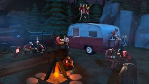 SFM Poster: Camping Trip by PatrickJr