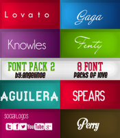 Font Pack  #Fonts #Pack by Angelinoe