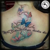 Butterflies by arturtattooart