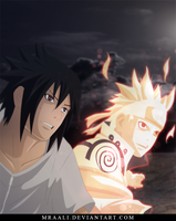 Sasuke and Naruto [641] by MrAali