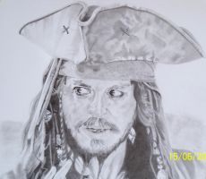 J Depp - Jack Sprrow by norty677