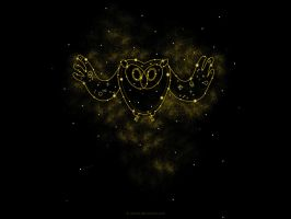 Cosmic Owl by istaria