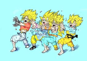 DBZ-GT: Kids Attack by ssjgogeto