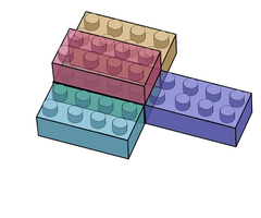 Lego Brick Design by MattisamazingPS