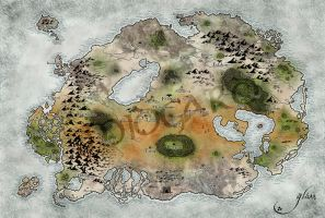 Midgard Map by Glass-no-E