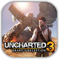 Uncharted 3 Game Icon by Wolfangraul
