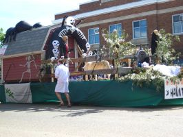 Haunted house theme parade by sidneyj06