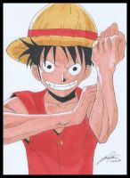 Luffy - One Piece by YochanArt