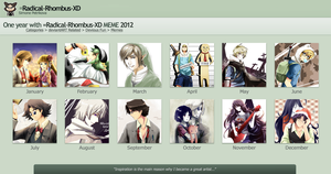 My 2012 Deviantart Summary by PepperMoonFlakes