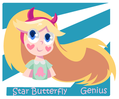 STAR Butterfly by IsaGenius