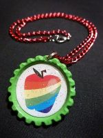Zap Apple MLP:FiM Necklace by Monostache