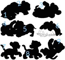 Mystery Lion adopts-5pnts each by TwilightLuv10