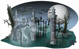 The Hatbox Ghost by vonblood