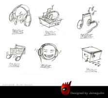 icon sketching2 by jameguilin